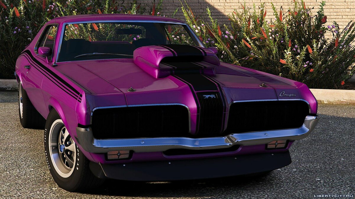 Mercury car 1970 Mercury Cougar Eliminator [Add-On] 1.0 for GTA 5