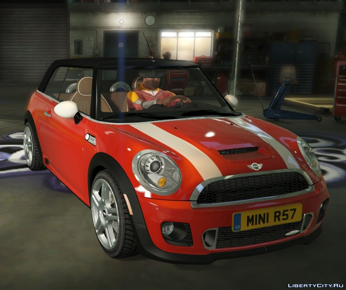 mini jcw r57 cabrio add on tuning livery 1 1 for gta 5. Black Bedroom Furniture Sets. Home Design Ideas
