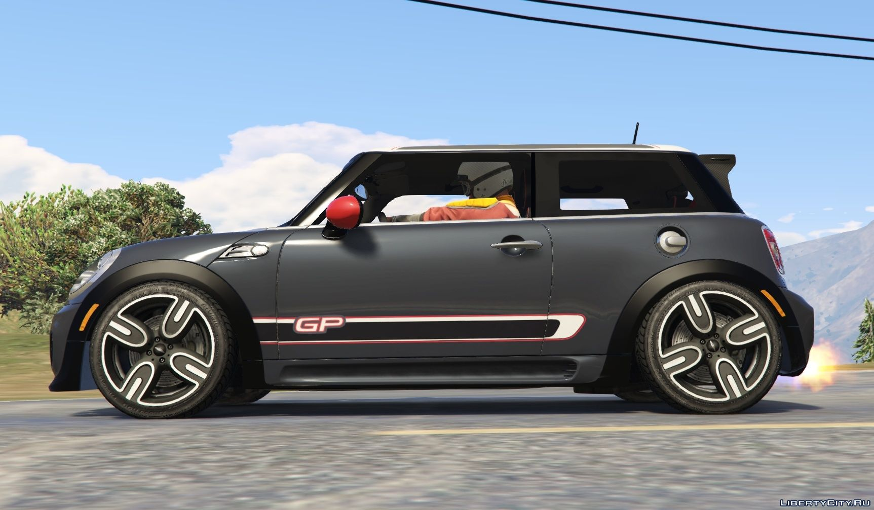 mini jcw f56 r56 gp add on tuning livery 1 0 for gta 5. Black Bedroom Furniture Sets. Home Design Ideas