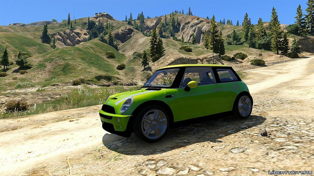 Mini car Mini Cooper S Euro for GTA 5