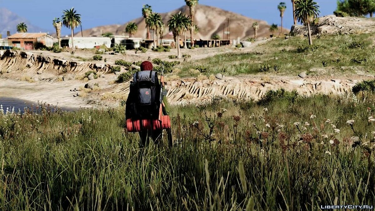 Mod Hiker Backpack For MP Players 1.1 for GTA 5