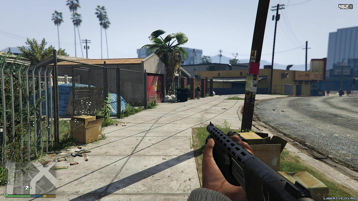 First-Person Field of View Mod v 1.1 for GTA 5 - screenshot #2