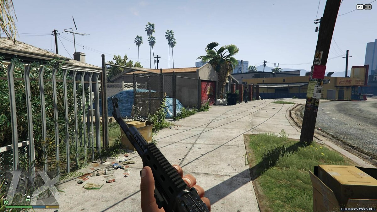 First-Person Field of View Mod v 1.1 for GTA 5 - screenshot #3
