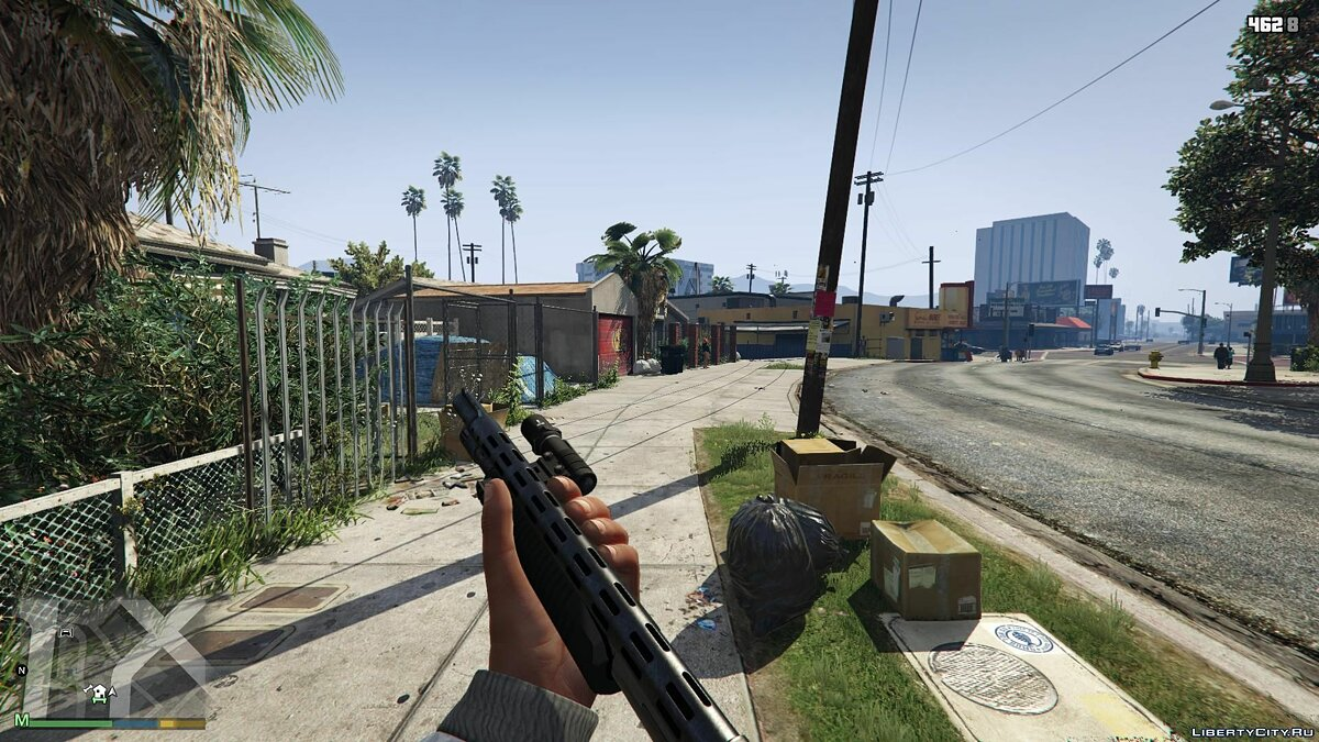 First-Person Field of View Mod v 1.1 for GTA 5 - screenshot #4
