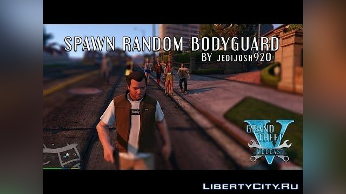 Spawn bodyguards for GTA 5