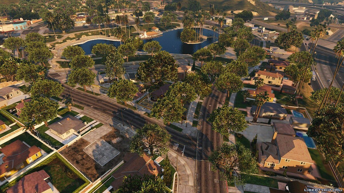 Mod [W.I.P.] Oxide's Rockford Hills & Mirror Park Trees Upgrade - YMAP 1.0 for GTA 5