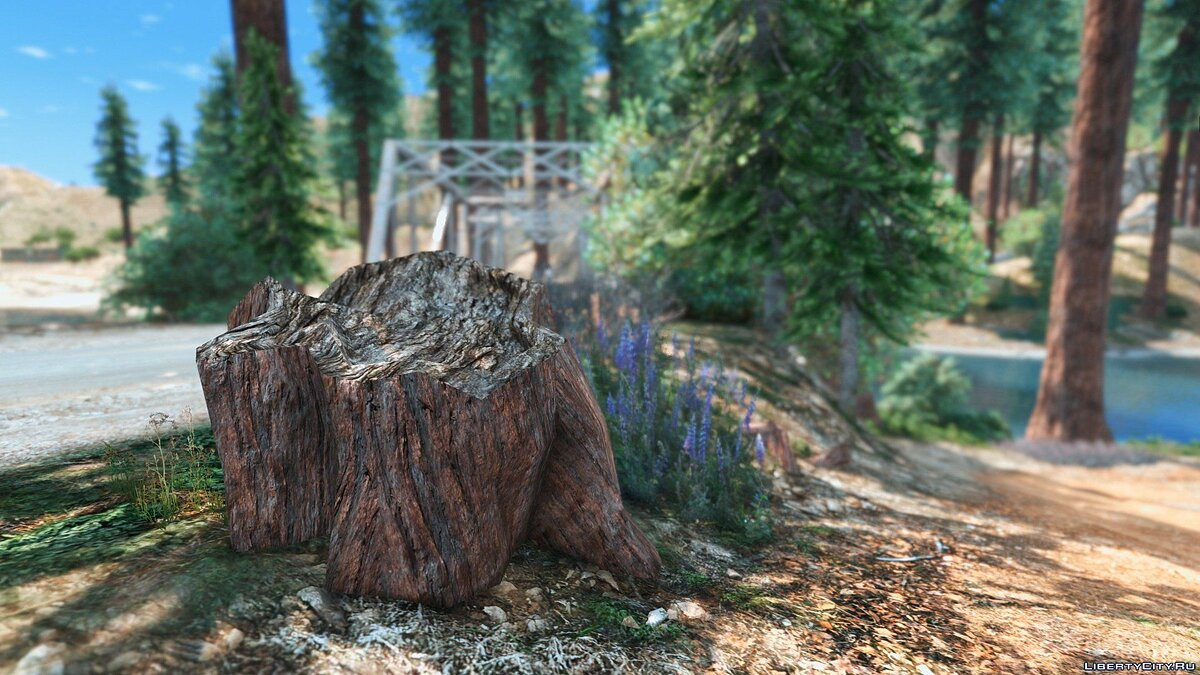 Mod Forests of Chiliad (Redwood, Cedar trees + Cabin) [Add-On | YMAP] 2.4 for GTA 5