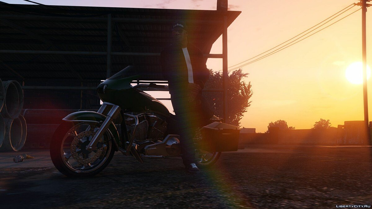 Mod Last Gen Lens Flare for GTA 5