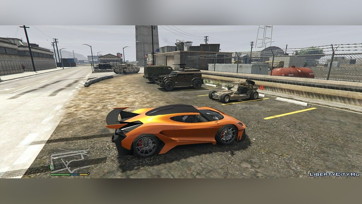 Mod Spawn machines from DLC in traffic for GTA 5