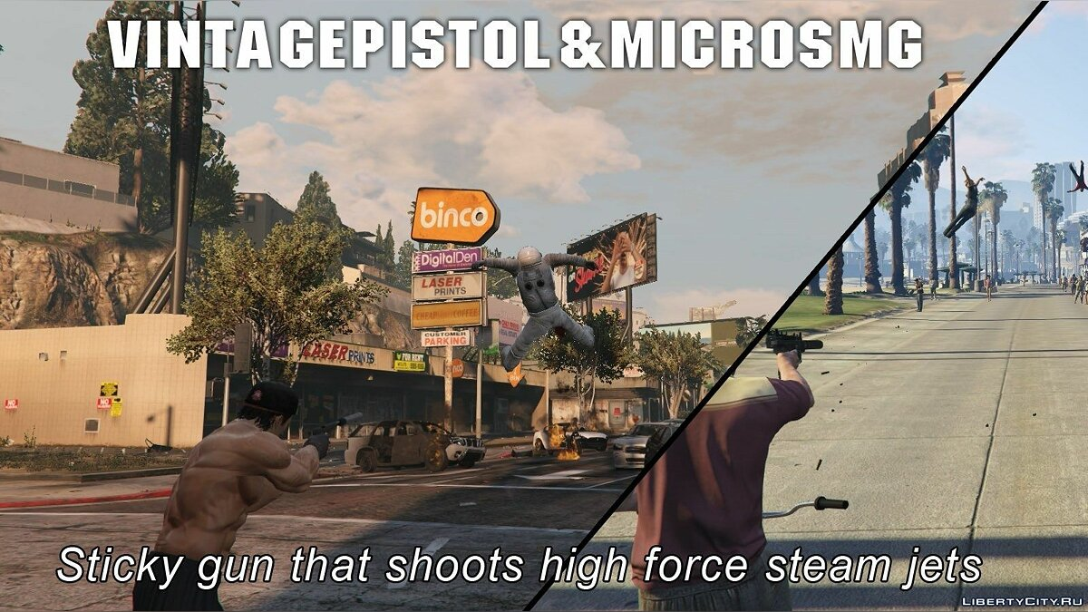 Shaunr's Weapon Mods for GTA 5 - screenshot #4