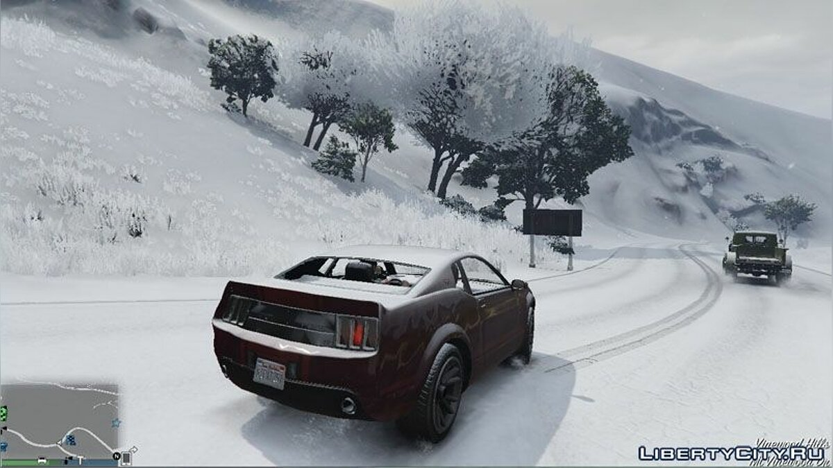 GTA V Online Snow Mod for GTA 5