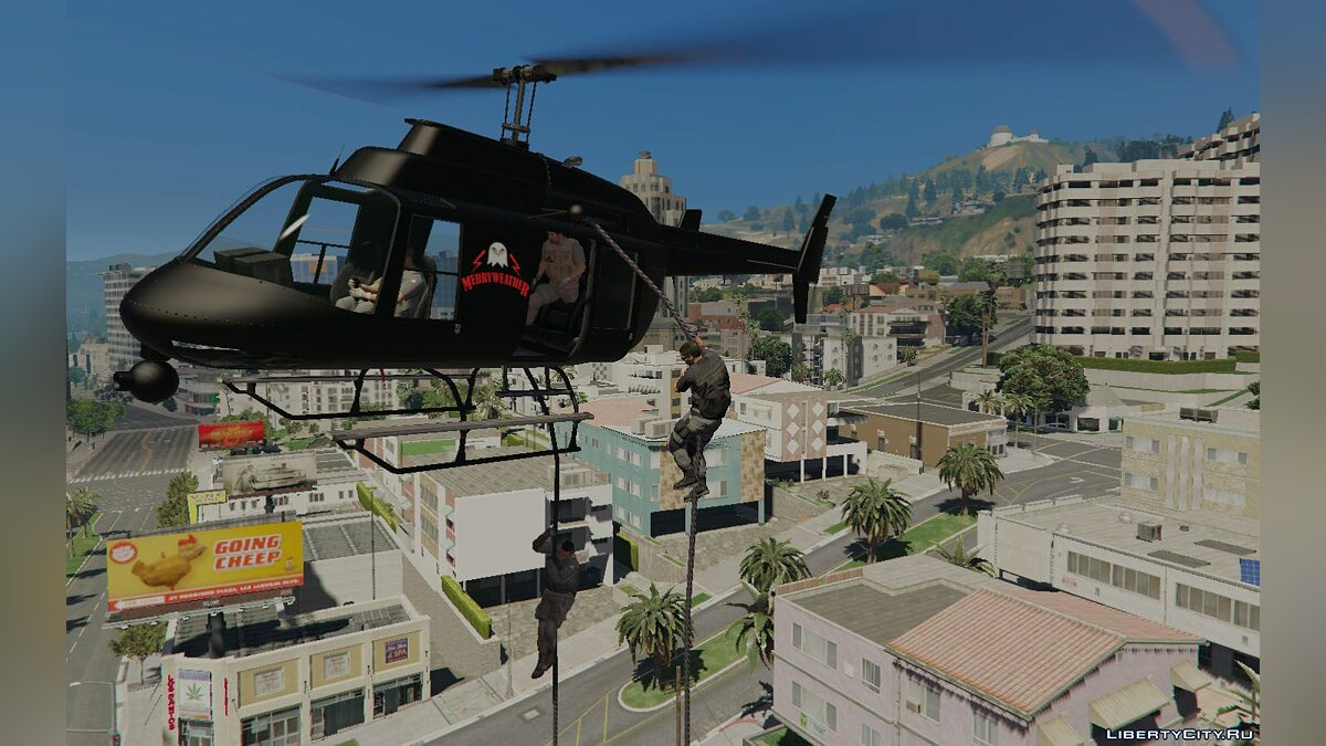 Mod Merryweather Enabled 1.0 for GTA 5