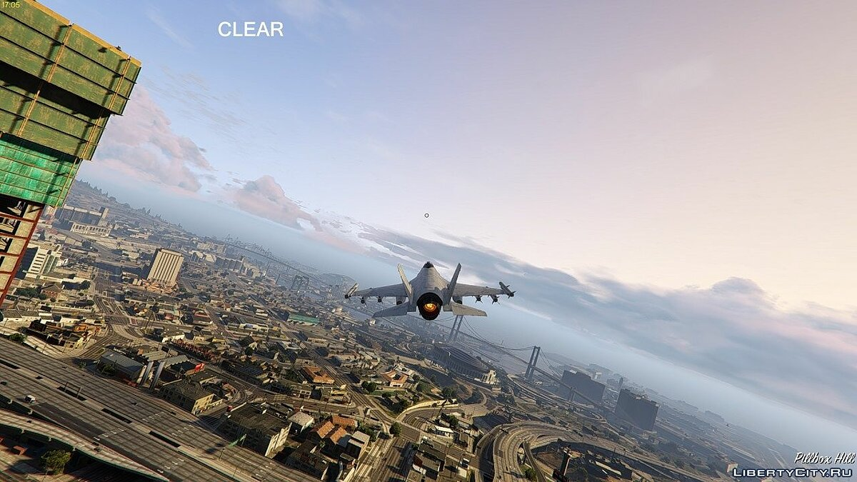 Less FOG in two weather types for GTA 5 - screenshot #2
