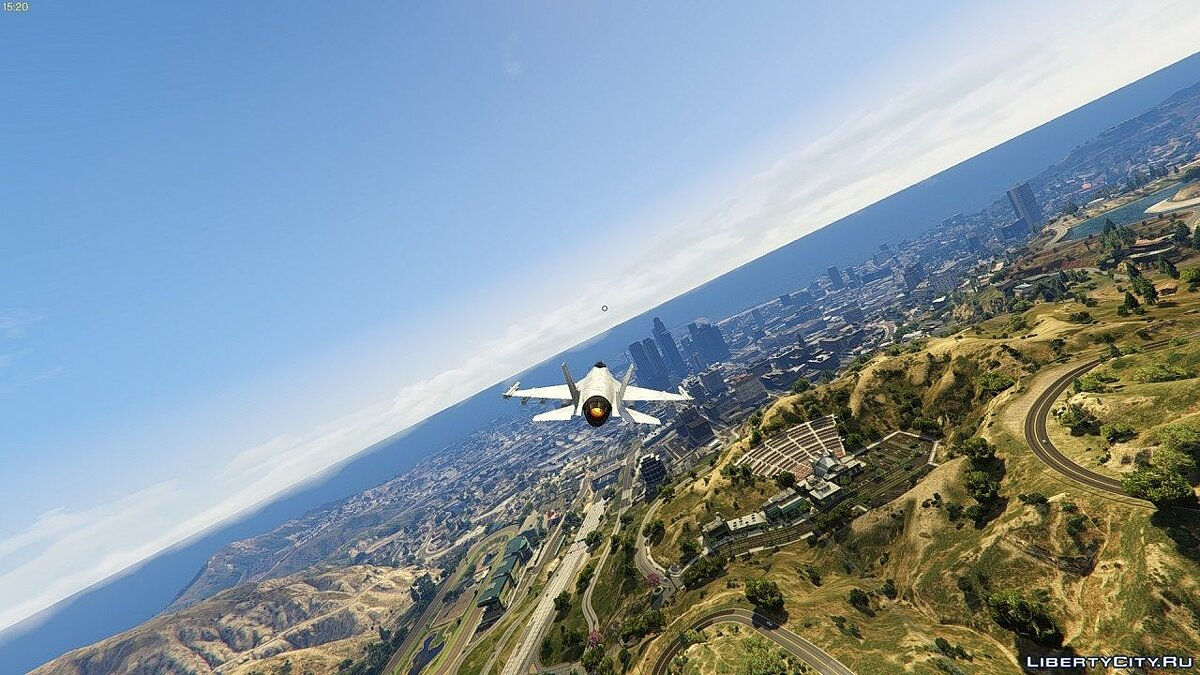 Less FOG in two weather types for GTA 5 - screenshot #3