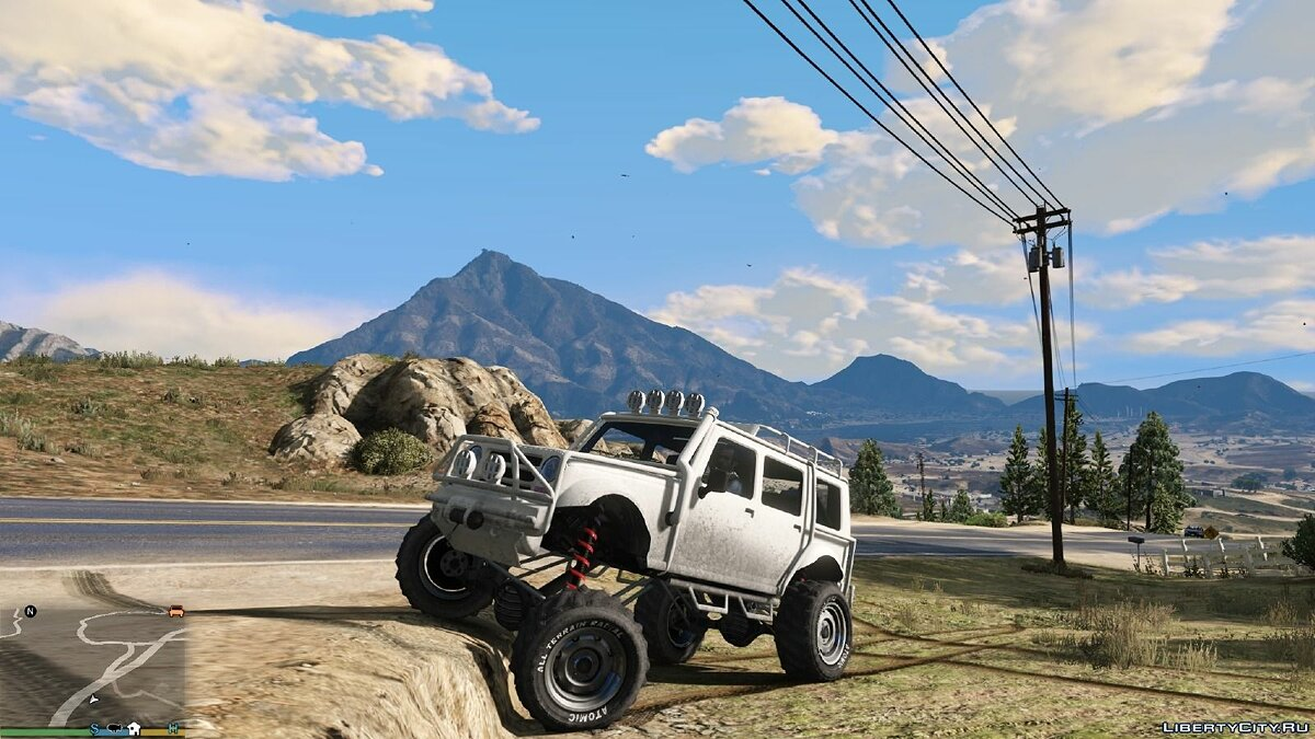 Off-Road and Main Character Vehicle Handling Suspension / Speed ​​/ Real Deformation 1.0 for GTA 5