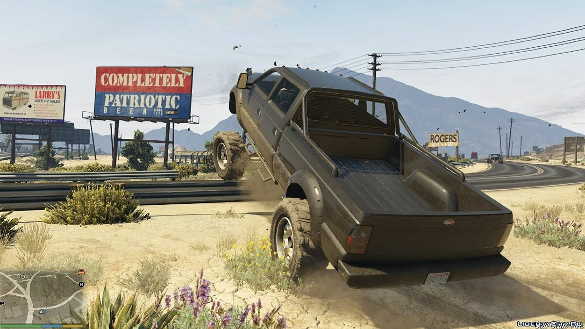 Off-Road and Main Character Vehicle Handling Suspension / Speed ​​/ Real Deformation 1.0 for GTA 5 - screenshot #2