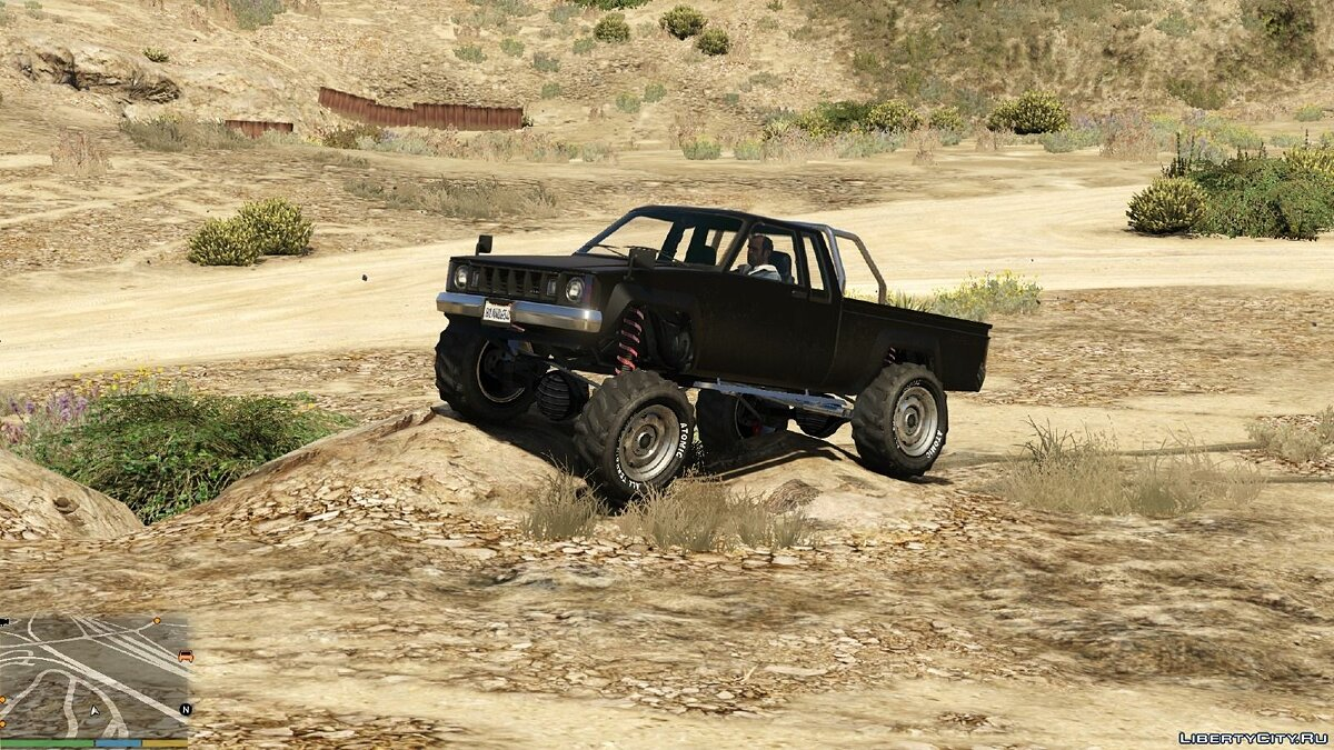 Off-Road and Main Character Vehicle Handling Suspension / Speed ​​/ Real Deformation 1.0 for GTA 5 - screenshot #4