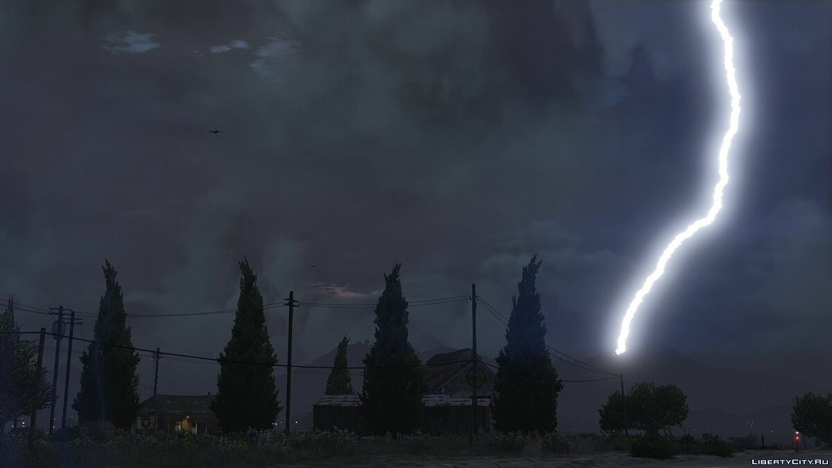Mod Lightning Overhaul 2.5 for GTA 5