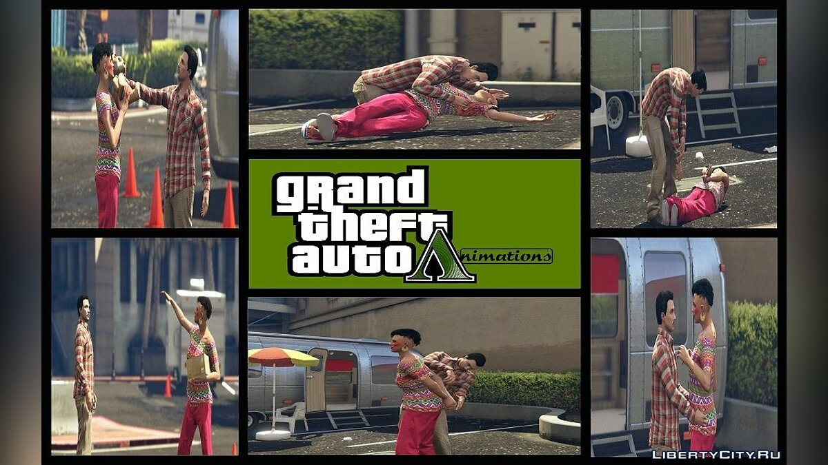 Mod Favorite Animations for Menyoo for GTA 5