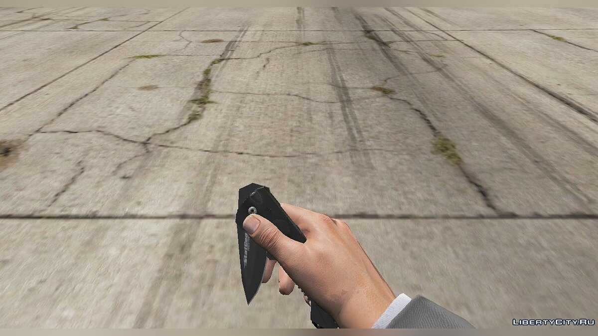 New mission Folding knife StatGear for GTA 5