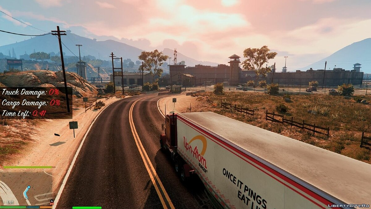 "New missions for the fashion ""Trucker Missions"" for GTA 5 - screenshot #2"
