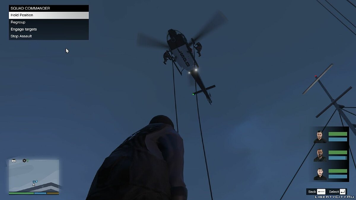 New mission NOoSE: National Office of Security Enforcement 1.2 for GTA 5