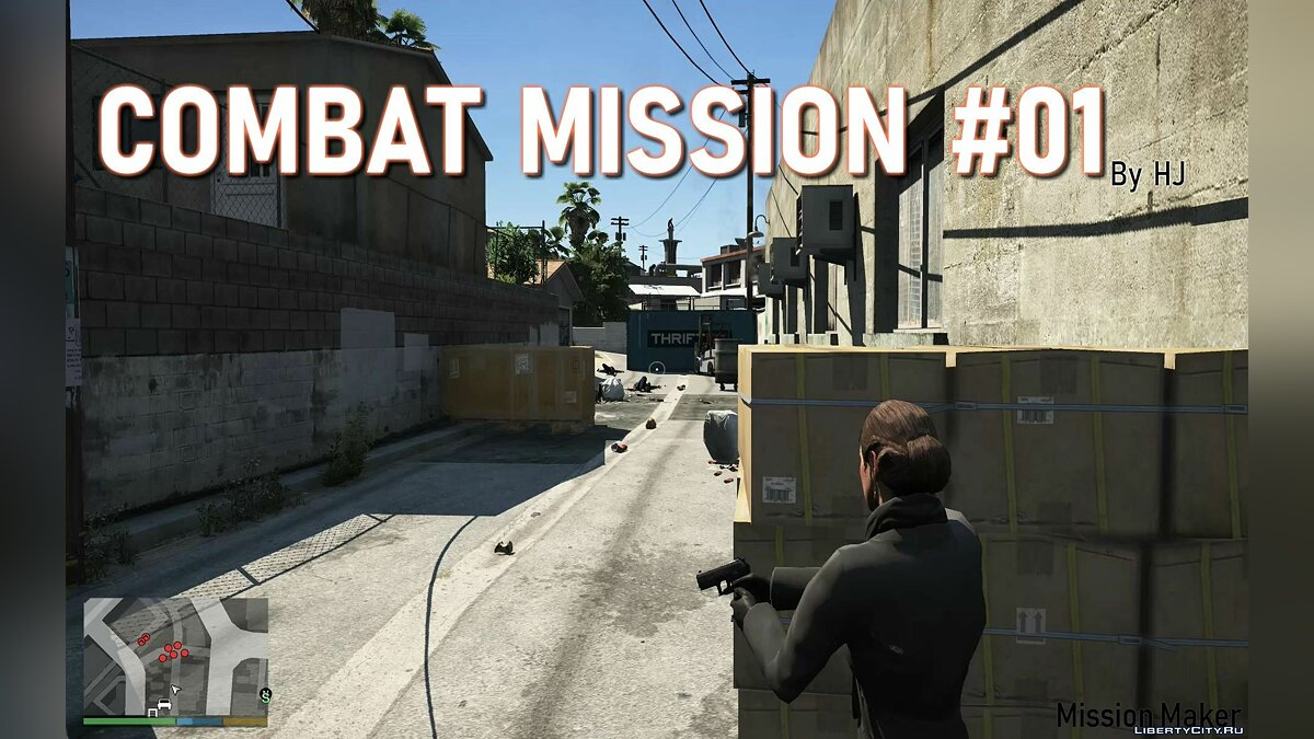 New mission Combat Mission v3.0 for GTA 5