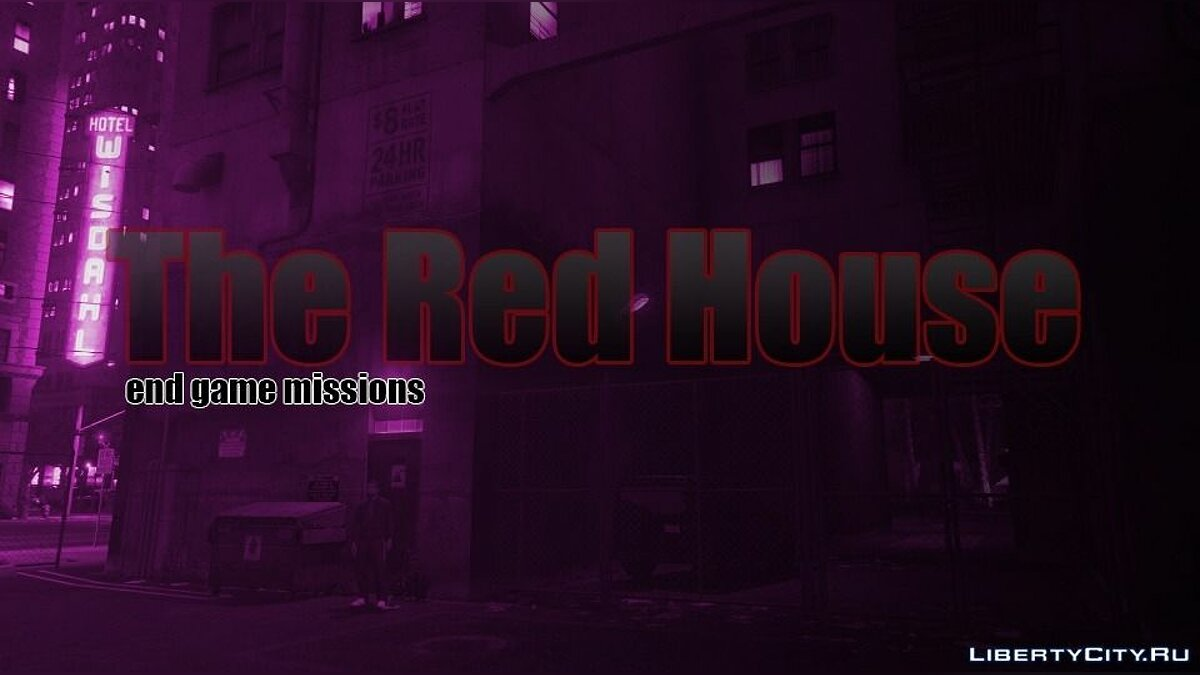 New mission The Red House (new heists and missions) 3.1 for GTA 5