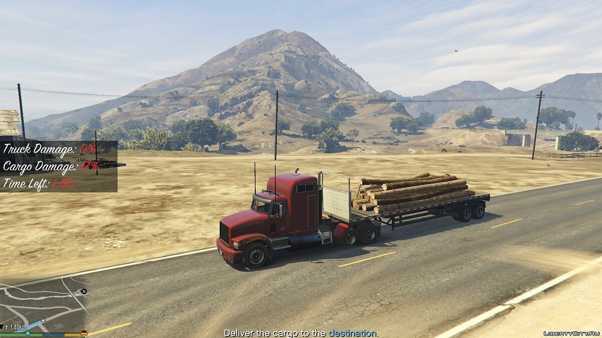 Trucking Missions 0.2 for GTA 5 - screenshot #4