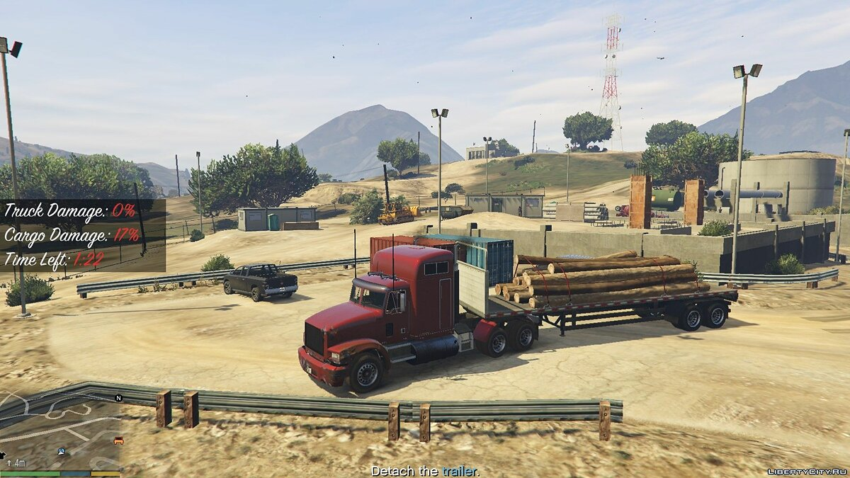Trucking Missions 0.2 for GTA 5 - screenshot #5