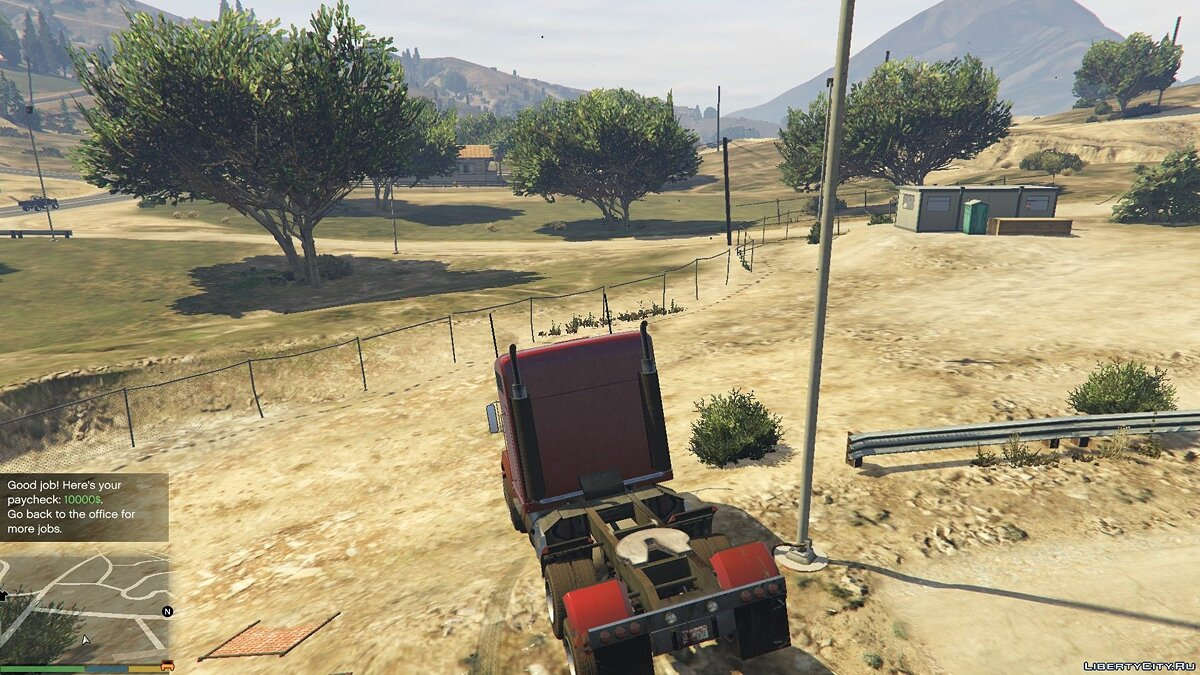 Trucking Missions 0.2 for GTA 5 - screenshot #6