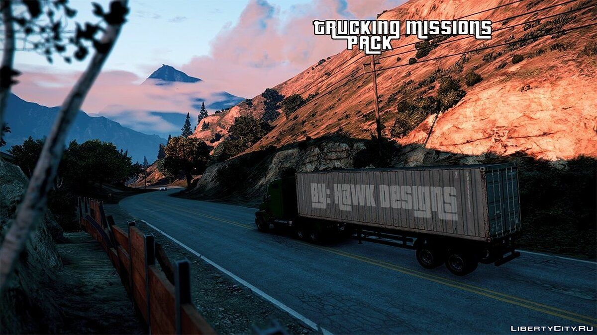 New mission Trucking Missions Pack 1.5 for GTA 5