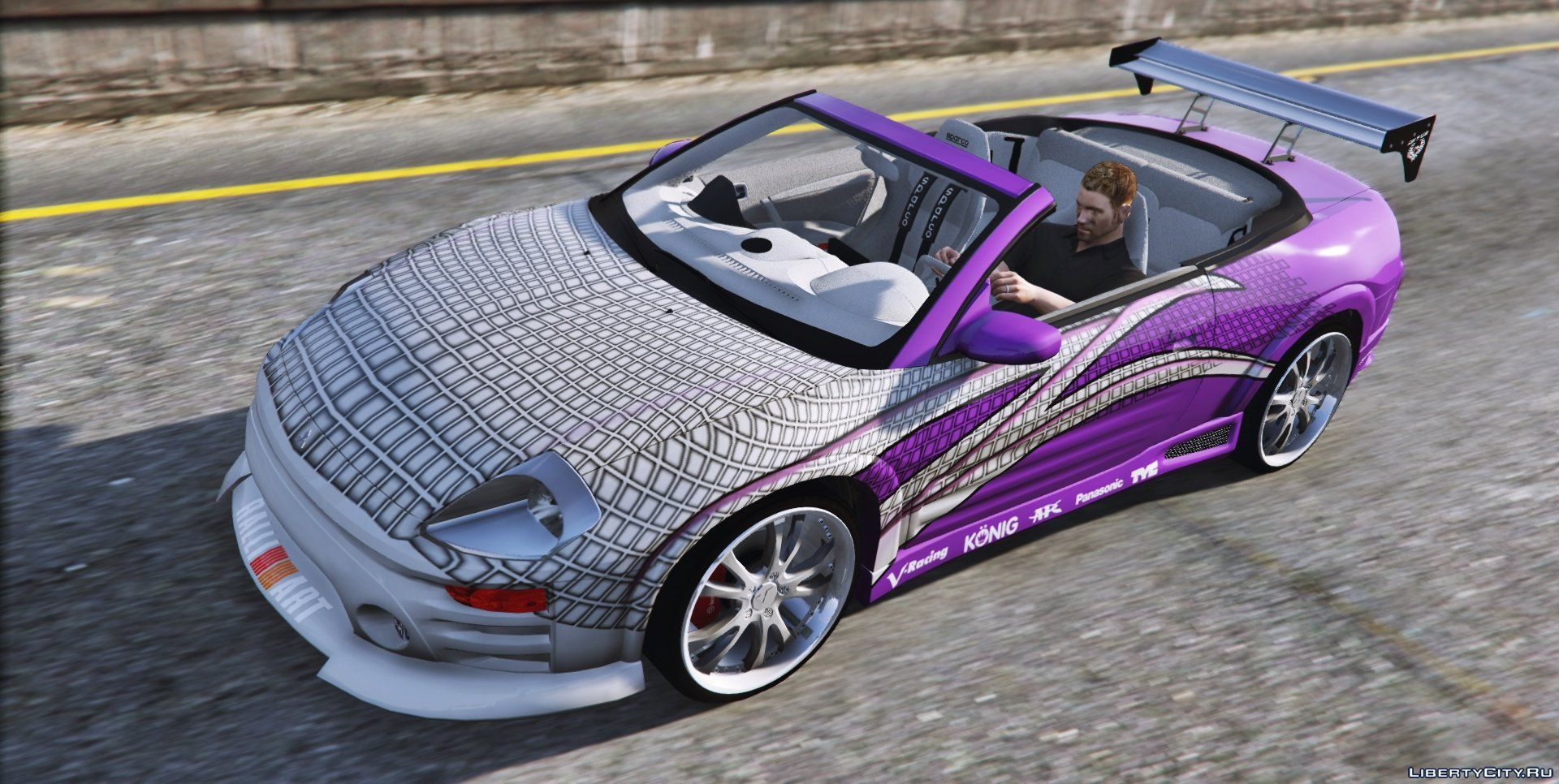 2f2f edition 2003 mitsubishi eclipse spyder gts 2 0 for gta 5. Black Bedroom Furniture Sets. Home Design Ideas
