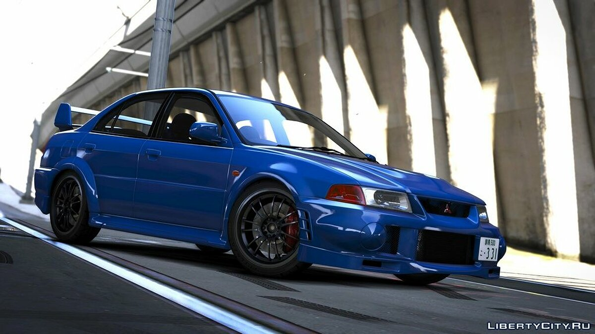 Mitsubishi car Mitsubishi Lancer Evo VI [Add-On] for GTA 5