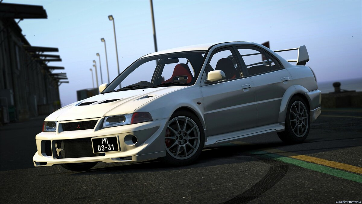 Mitsubishi car Mitsubishi Lancer Evolution VI TME (CP9A) [GSR | Evo5 | Varis] for GTA 5