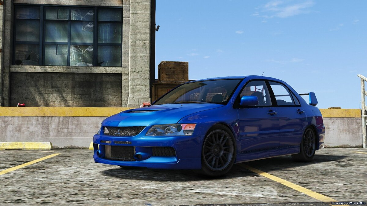 Mitsubishi car Mitsubishi Evo 9 MR (2006) [Add-On | Tuning] 1.0 for GTA 5