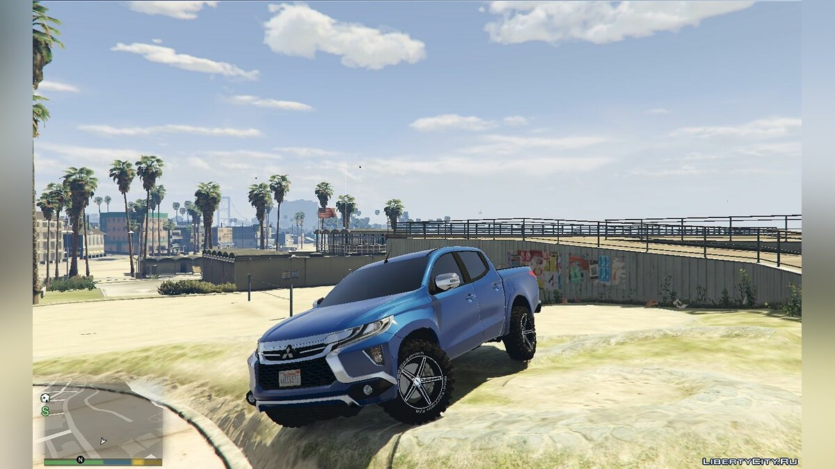 Mitsubishi car Mitsubishi L200 2019 [Add-On] 1.0 for GTA 5