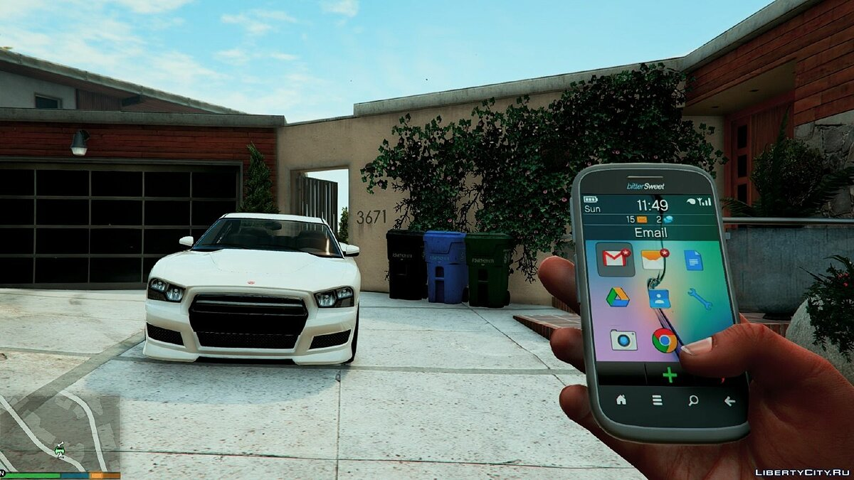 Cellphone Real Phones HD 1.0 for GTA 5