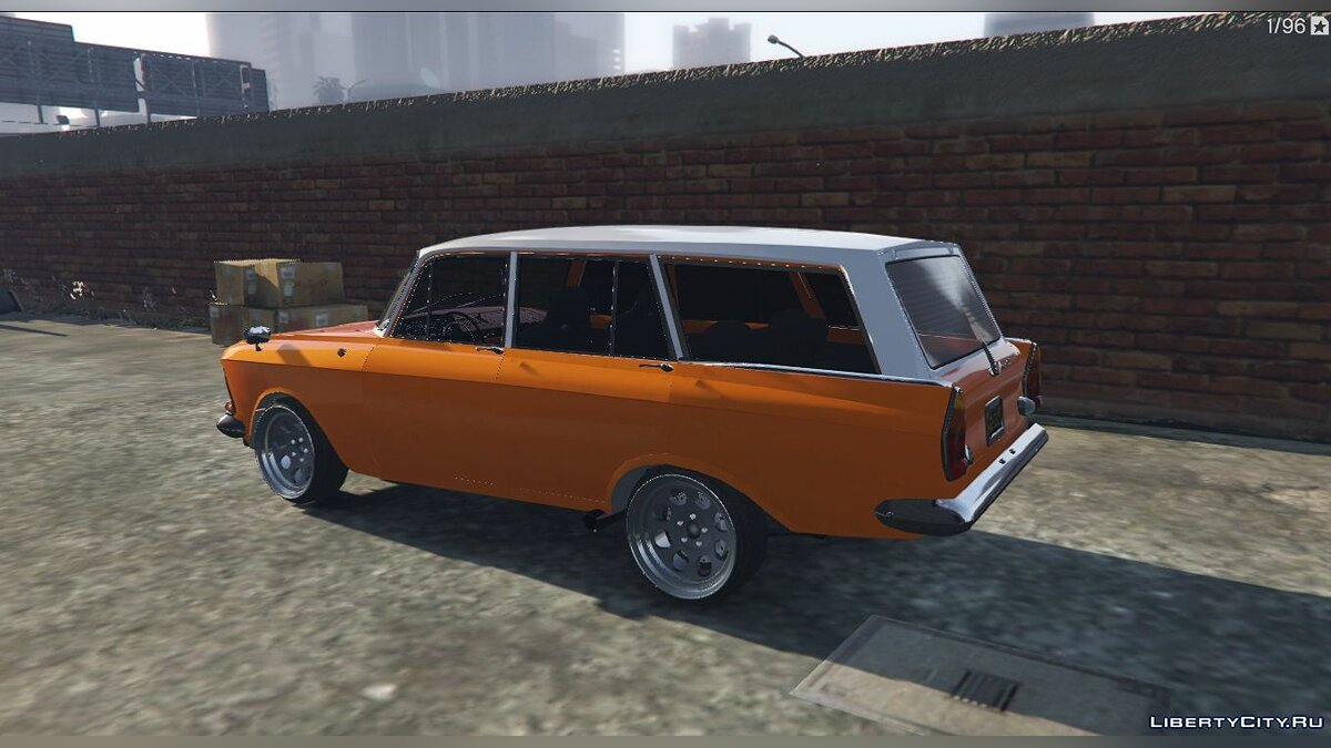 Moskvitch car Moskvich-426 for GTA 5