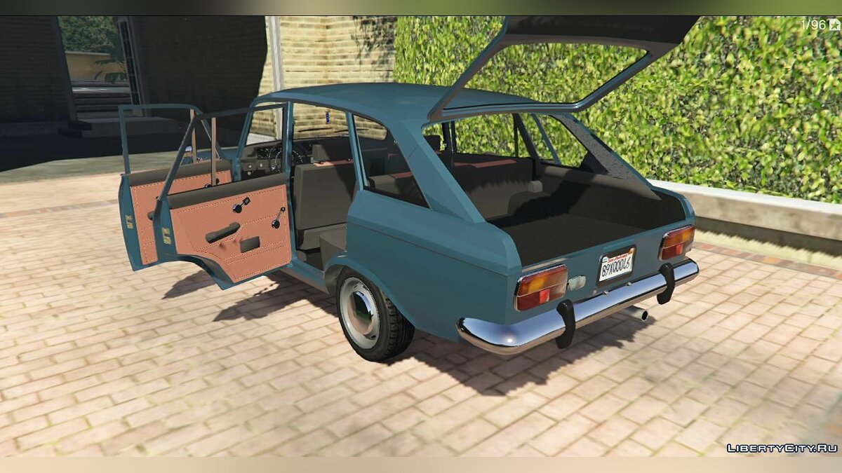 Moskvitch car IZh Moskvich-2125 + Tuning for GTA 5