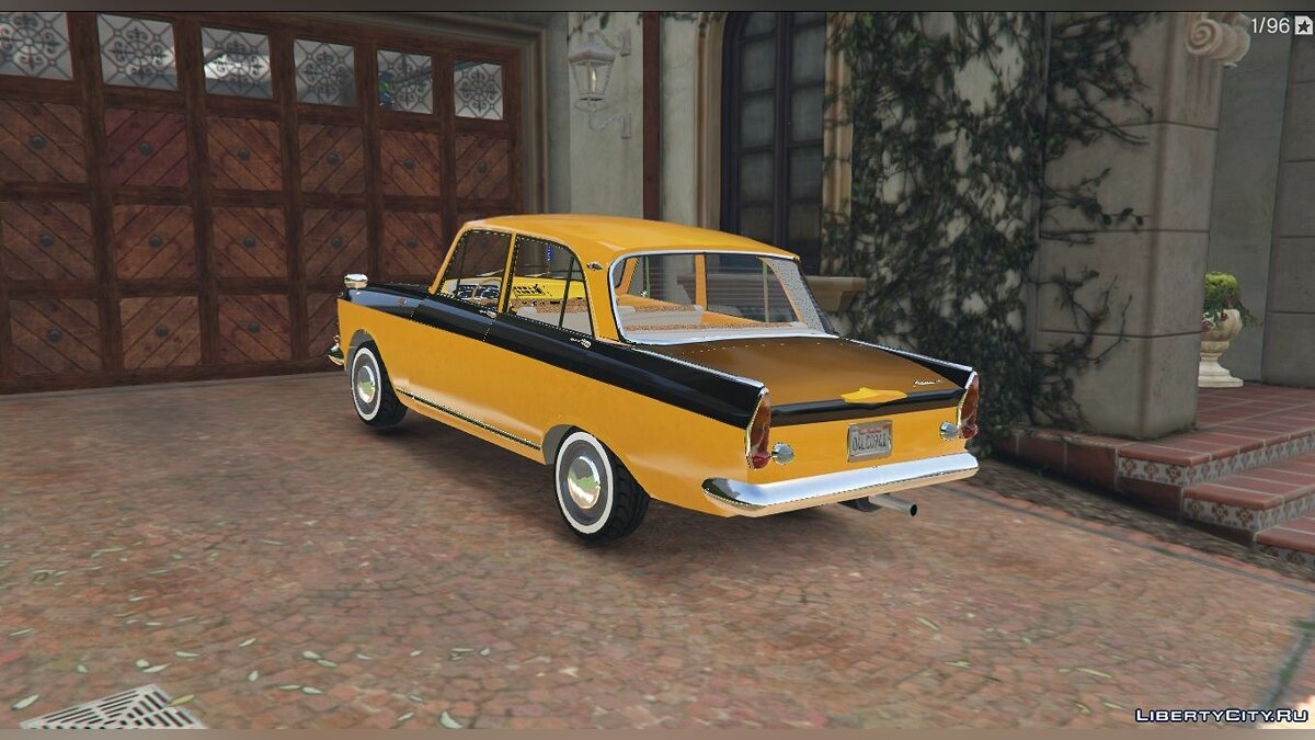 Moskvitch car Москвич-408 for GTA 5