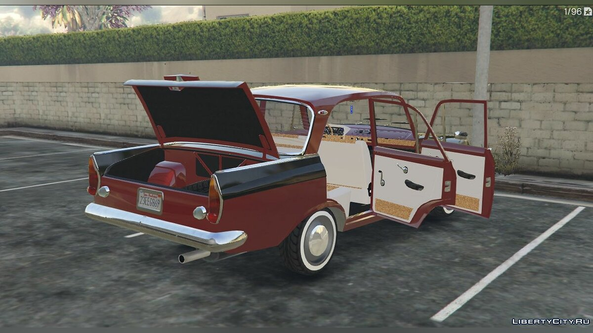Moskvitch car Moskvich-408 for GTA 5