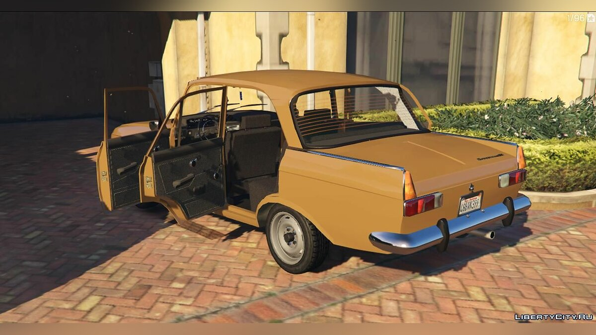 Moskvitch car IZH 412-Moskvich + Tuning for GTA 5