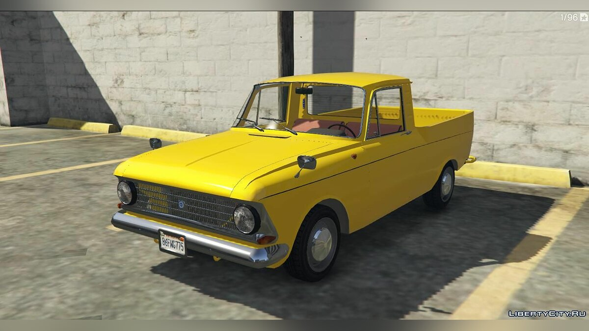 Moskvitch car ИЖ Москвич-27151-2715 for GTA 5