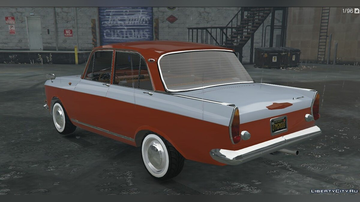 Moskvitch car Moskvich-408 + Tuning for GTA 5