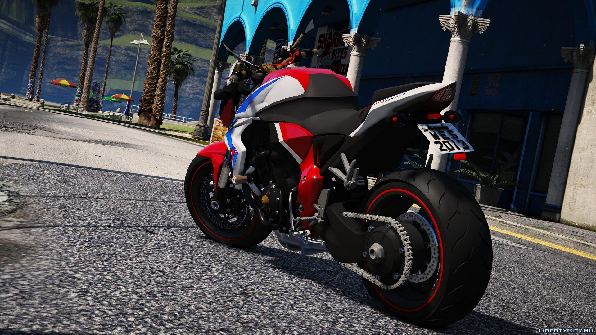 honda cb1000r barracuda replace tuning 1 0 for gta 5. Black Bedroom Furniture Sets. Home Design Ideas