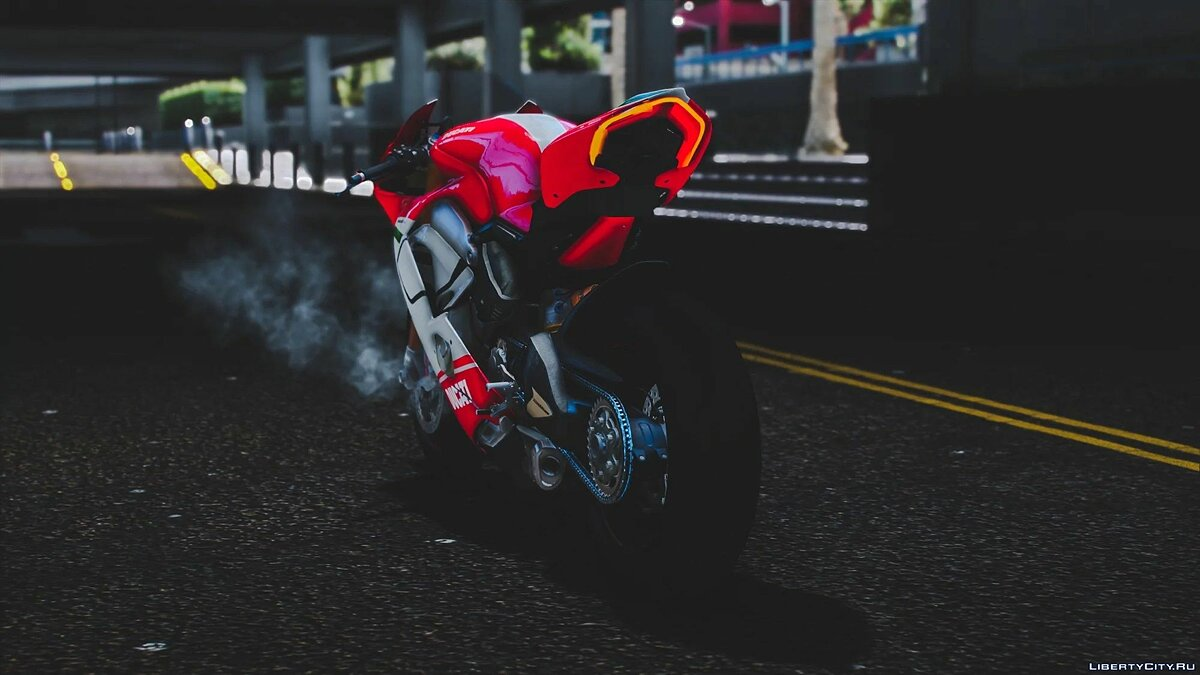 Motorbike 2018 Ducati Panigale V4 Speciale [Add-On | Tuning | Template] 1.0 for GTA 5