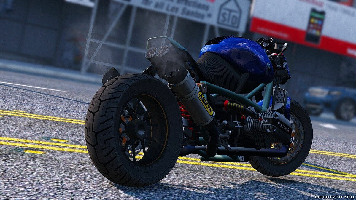 Motorbike BMW R 1100R Street Fighter [Add-On / Replace | Animated] 2.0 for GTA 5