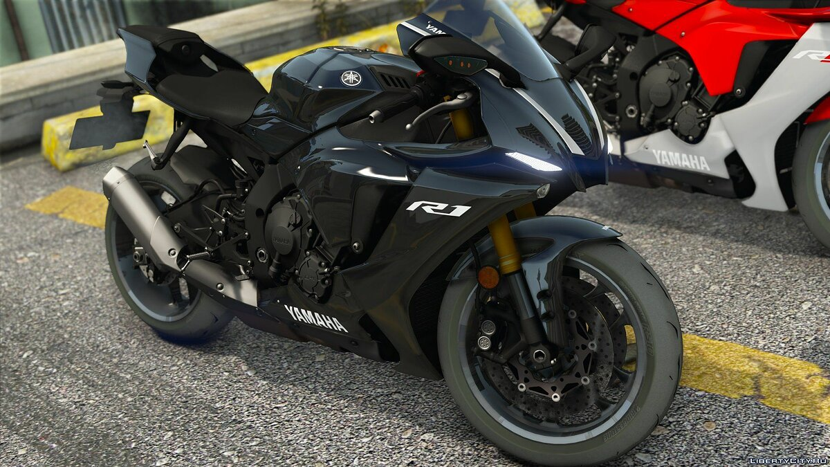 Motorbike 2020 Yamaha YZF-R1/R1M [Add-on | Tuning | Livery | Template] V3.5.1 for GTA 5