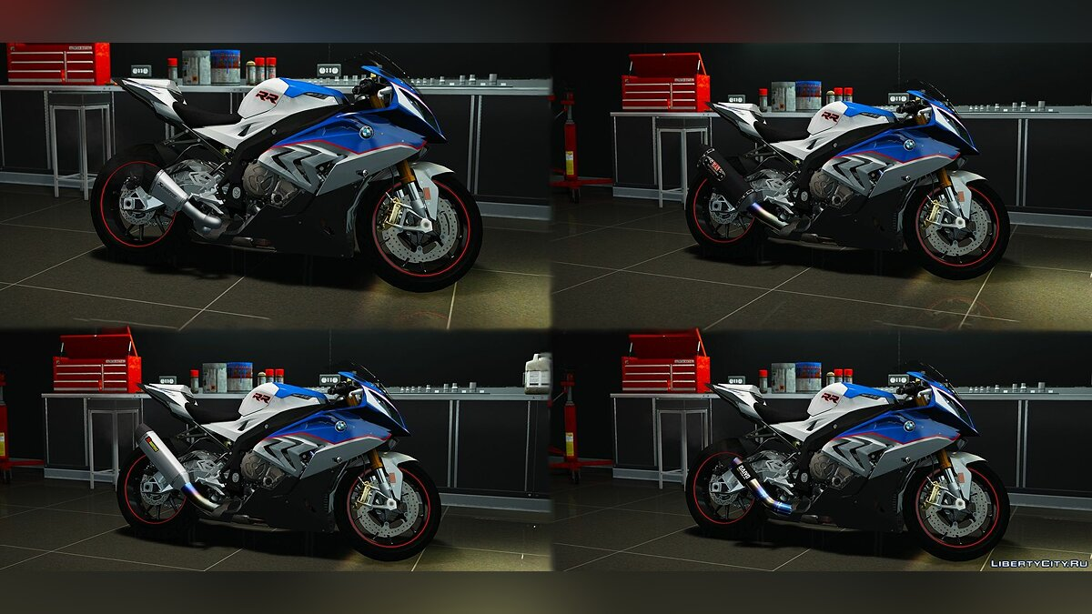 Motorbike BMW S1000RR 2016-2017 [Add-On   Tuning   Template] 2.0 for GTA 5